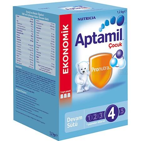 Aptamil 4 Devam Sütü 1200 gr Ürün Resmi